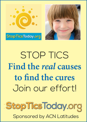 Stop Tics Today - Find the real causes to find the cures