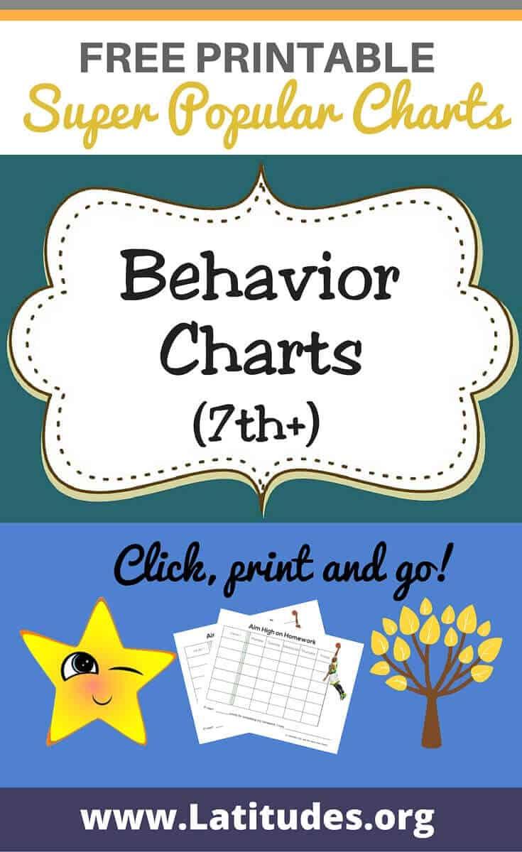 Homework Chart Printable