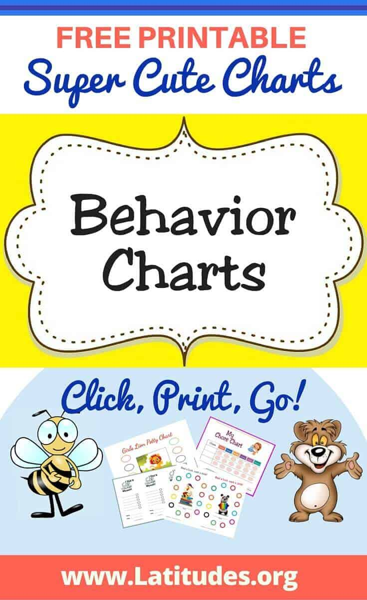 It is an image of Shocking Printable Behavior Charts for Toddlers