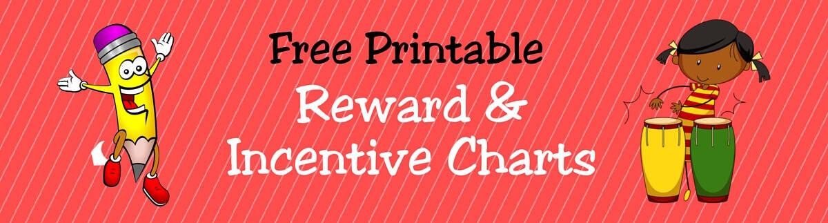 FREE Printable Reward Incentive Charts for Teachers Students – Printable Rewards Charts