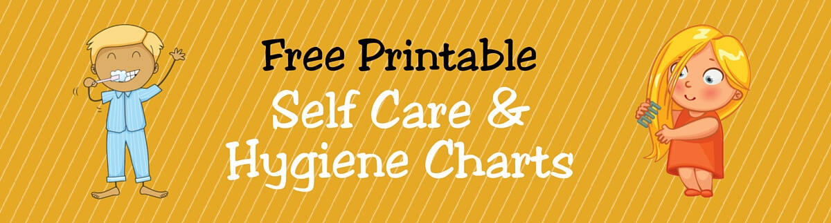 Free printable self care amp hygiene charts for kids acn