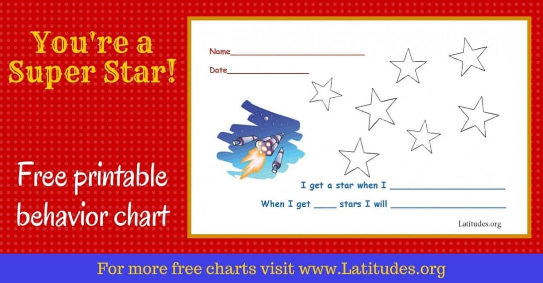 Super Star Behavior Chart