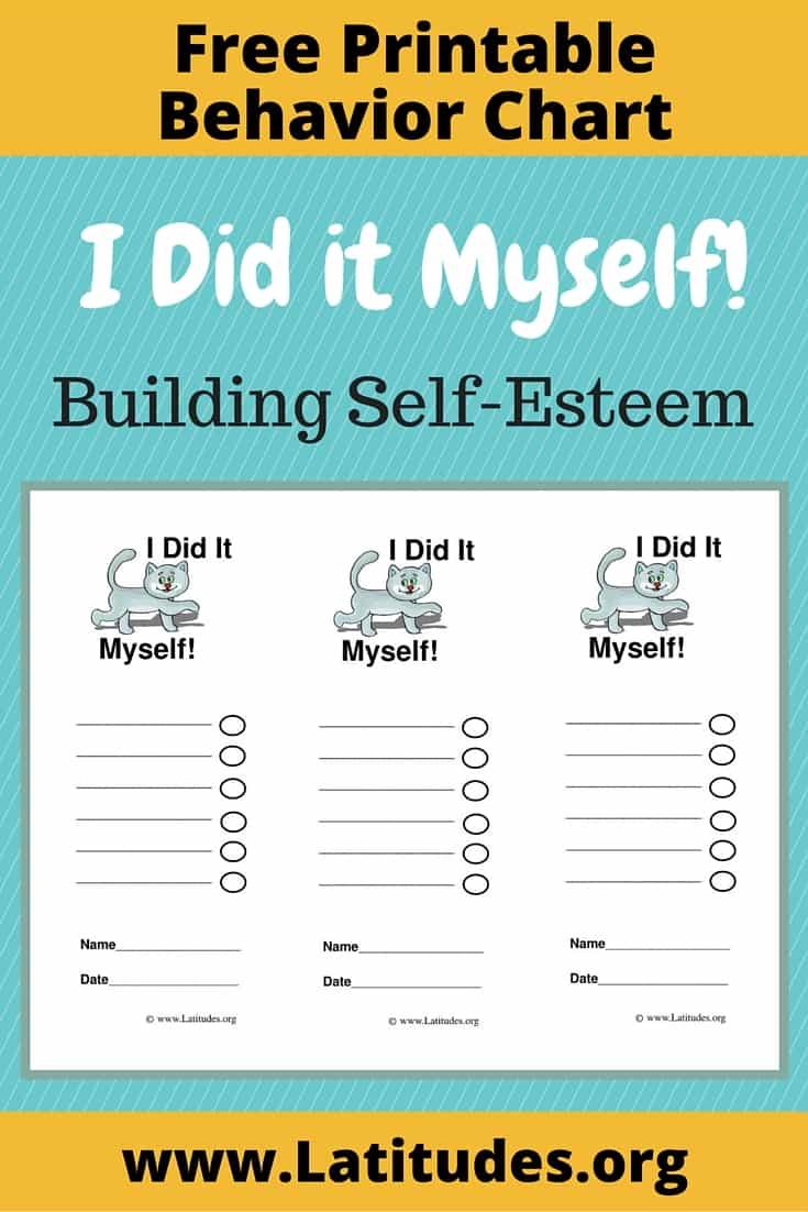 FREE Did It Myself Behavior Chart