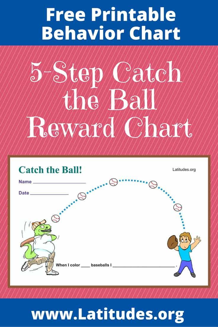 FREE Catch the Ball Behavior Chart