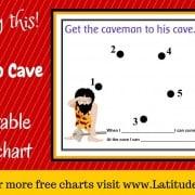 Caveman to Cave Behavior Chart