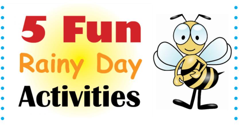 5 Fun Rainy Day Activities for Kids