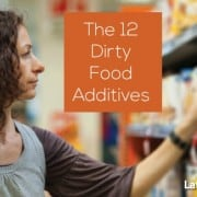 The dirty dozen in food additives