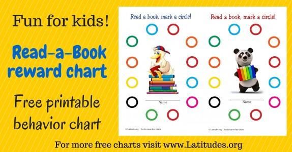 Read a Book Reward Chart WordPress