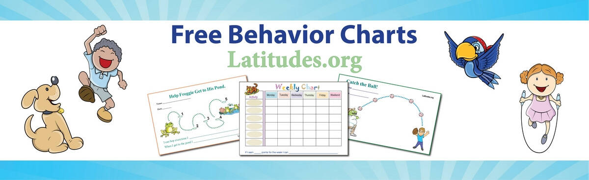 FREE Printable Behavior Charts For Home And School  Free Printable Reward Charts For Teachers