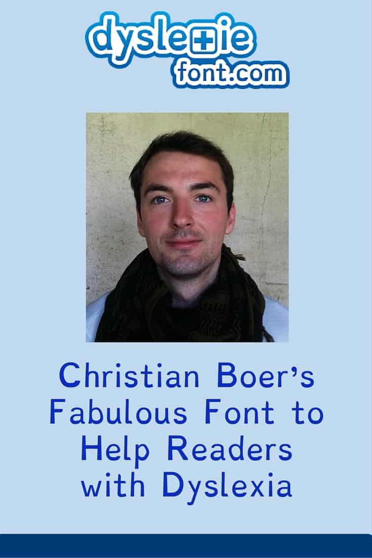 Christian Boer's Fabulous Font