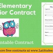 Owl Behavior Contract Wordpress