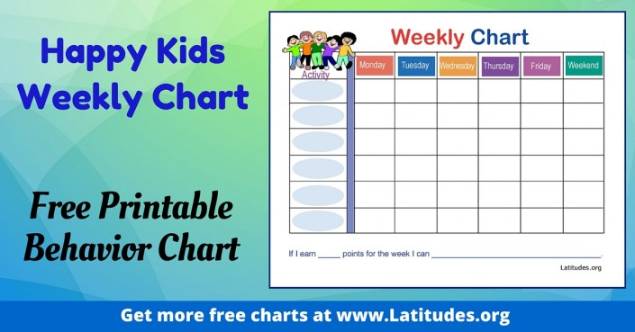behavior chart ideas for 3 year olds: Free printable behavior charts for home and school acn latitudes