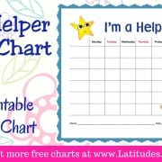 I'm A Helper Chore Chart WordPress