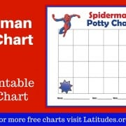 Spiderman Potty Chart WordPress