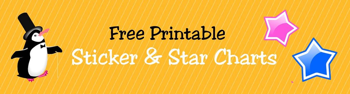 Header Sticker & Star Charts