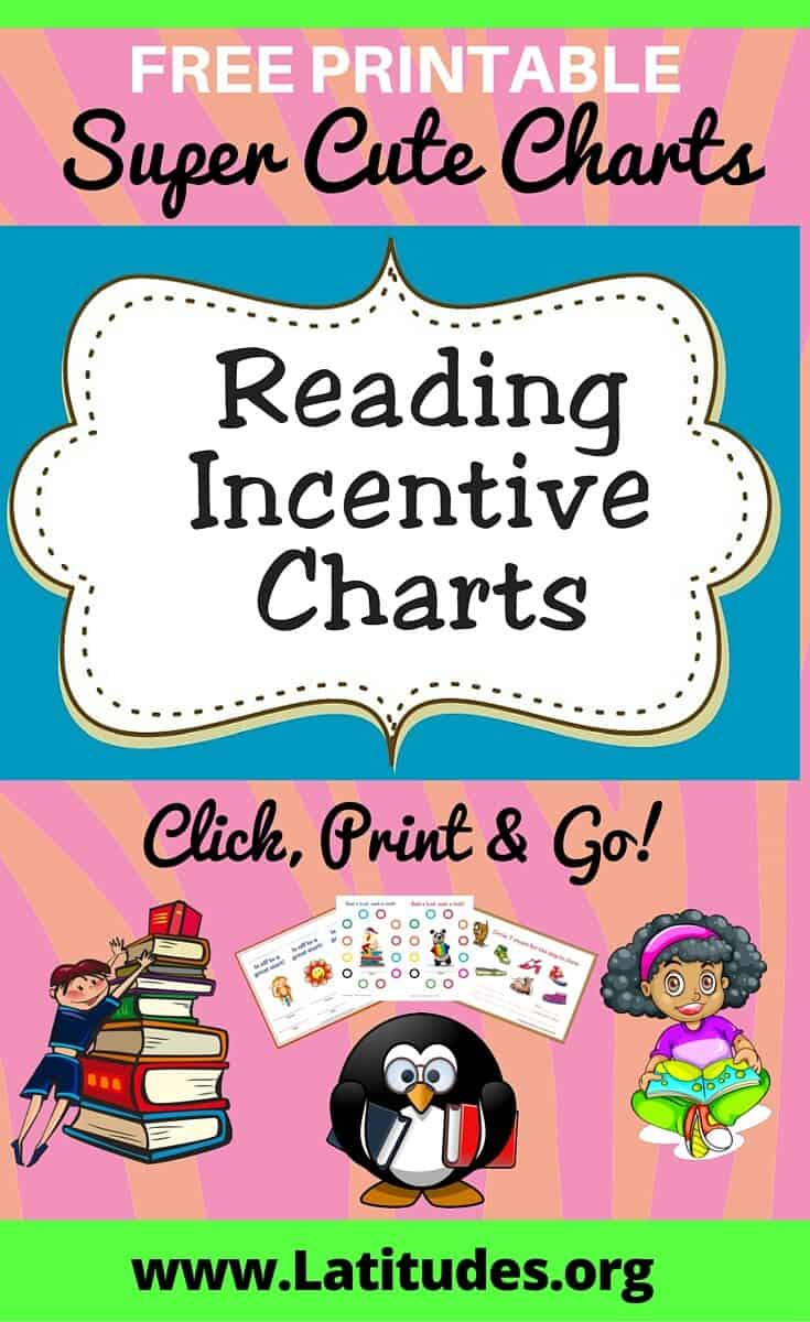 Reading Charts Pinterest  Free Printable Reward Charts For Teachers