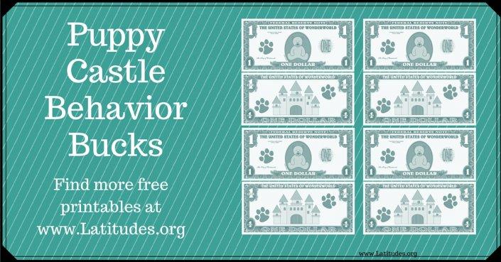 Puppy Castle Behavior Bucks