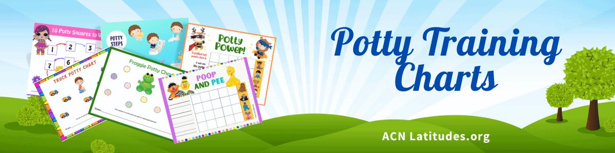Potty Training Charts Header