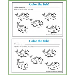 Happy Fish Behavior Chart