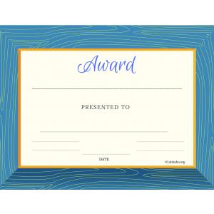 Generic Large Border Award