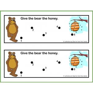Give Bear Honey Behavior Chart
